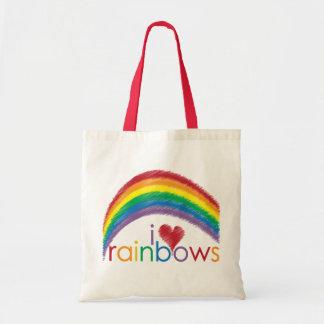 i love rainbows bag