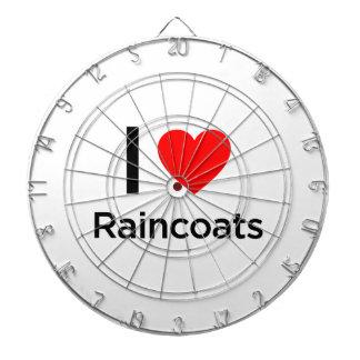 I Love Raincoats Dart Boards