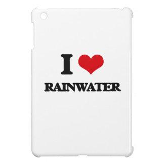 I Love Rainwater iPad Mini Cover