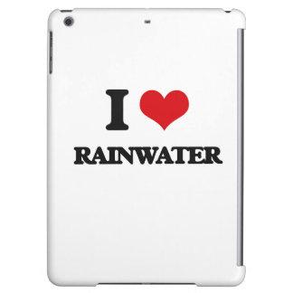 I Love Rainwater iPad Air Covers