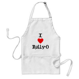 I Love Rally-O Aprons