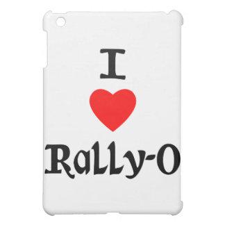 I Love Rally-O iPad Mini Cases