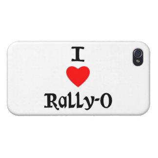 I Love Rally-O iPhone 4 Covers