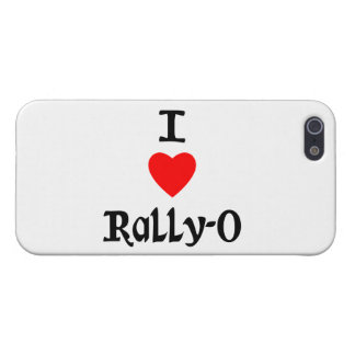I Love Rally-O iPhone 5/5S Cases