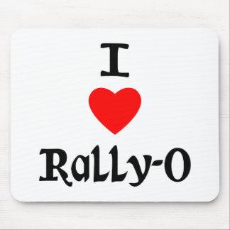 I Love Rally-O Mouse Pad