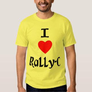 I Love Rally-O Tshirts