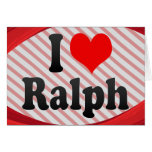 I love Ralph Stationery Note Card