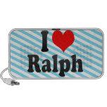 I love Ralph Travelling Speaker