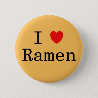 I Love Ramen 6 Cm Round Badge