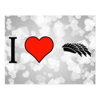 I Love Ramen Postcard