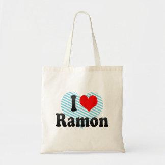 I love Ramon Canvas Bags