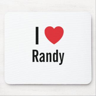 I love Randy Mouse Mats