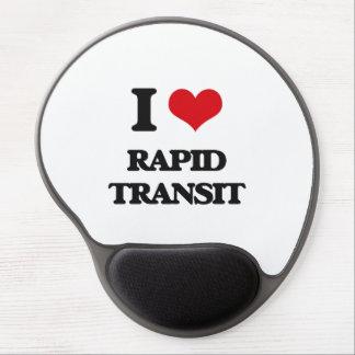 I Love Rapid Transit Gel Mousepad