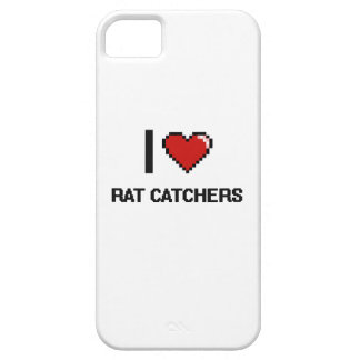 I love Rat Catchers iPhone 5 Cover