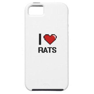 I love Rats Digital Design iPhone 5 Case