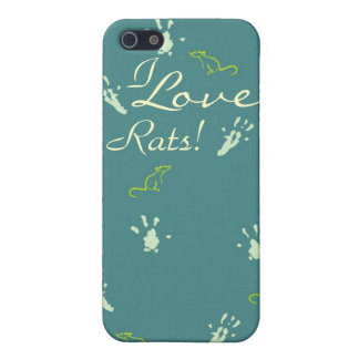 I love Rats iPhone case iPhone 5 Covers
