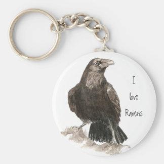 I love Ravens Keychain
