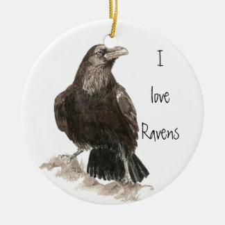 I love Ravens Ornament