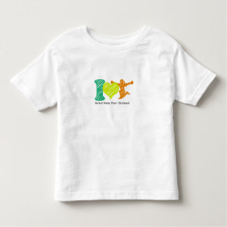 I love Rawai Toddler T-shirt