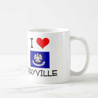 I Love RAYVILLE Louisiana Coffee Mug
