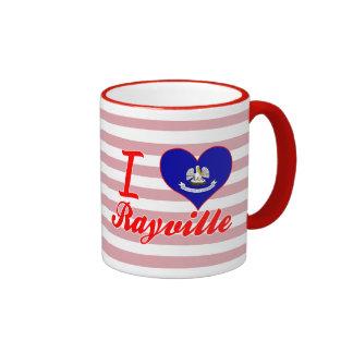 I Love Rayville, Louisiana Ringer Mug