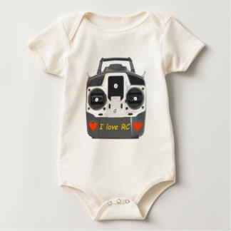 I love RC flying Baby Bodysuit