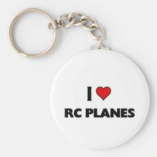 I love RC Planes Key Ring