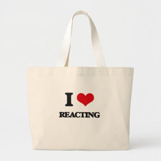 I Love Reacting Bag