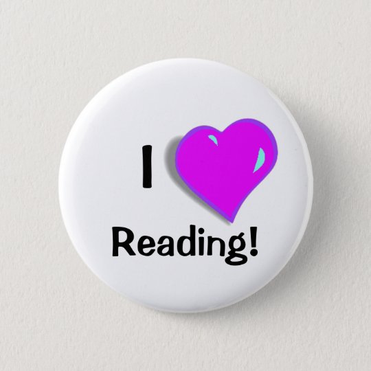 I love Reading! Button