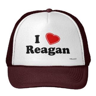I Love Reagan Hats