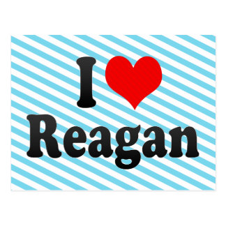 I love Reagan Post Cards