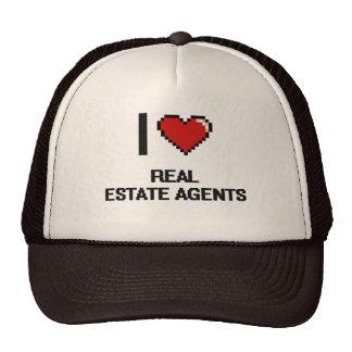 I love Real Estate Agents Trucker Hat