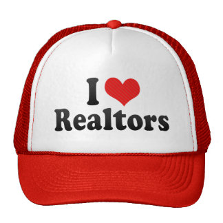 I Love Realtors Mesh Hat