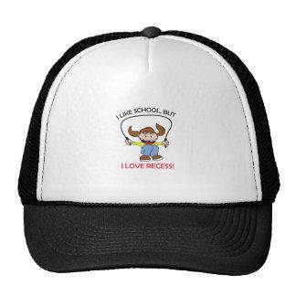 I LOVE RECESS TRUCKER HAT