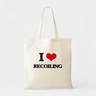 I Love Recoiling Canvas Bag