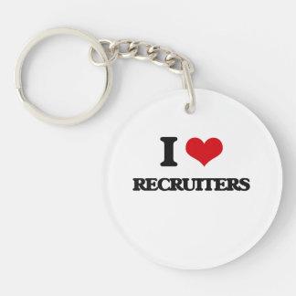 I love Recruiters Key Chain