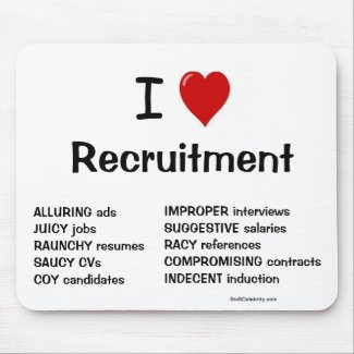 gift recruitment mousepad