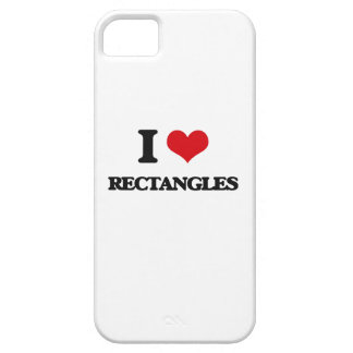 I Love Rectangles iPhone 5 Covers