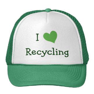 I Love Recycling Cap