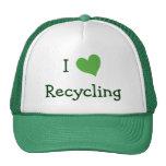 I Love Recycling Hats