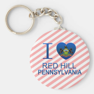 I Love Red Hill, PA Key Chain