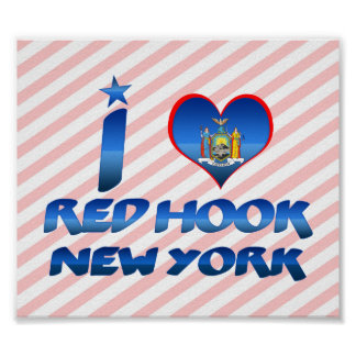 I love Red Hook, New York Posters
