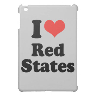 I LOVE RED STATES - .png iPad Mini Cases