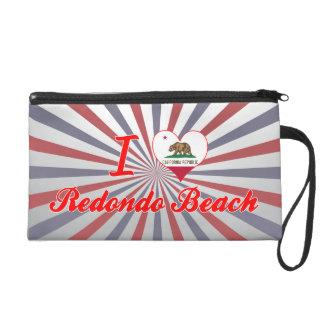 I Love Redondo Beach, California Wristlet Purse