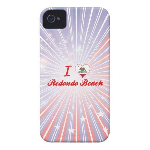I Love Redondo Beach, California Case-Mate iPhone 4 Case