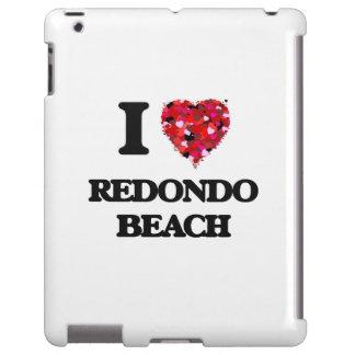 I love Redondo Beach California iPad Case