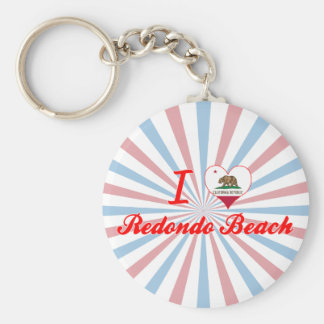I Love Redondo Beach, California Key Chains