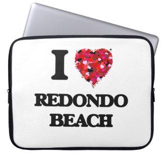 I love Redondo Beach California Laptop Sleeves