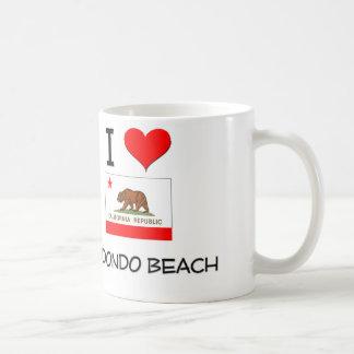 I Love REDONDO BEACH California Basic White Mug