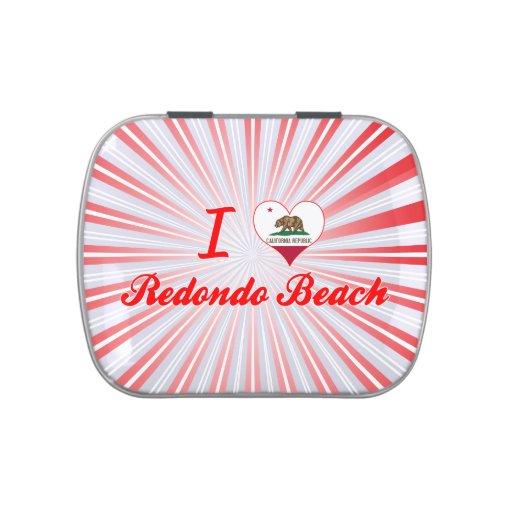 I Love Redondo Beach, California Jelly Belly Candy Tins